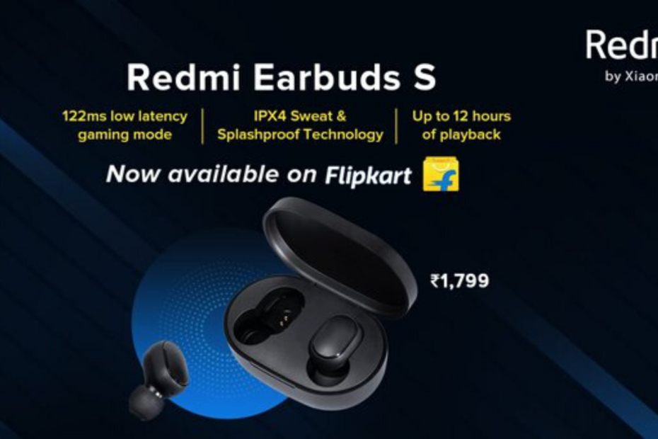 Redmi India Earbuds S: Sale On Flipkart, Know Price And Specifications.
