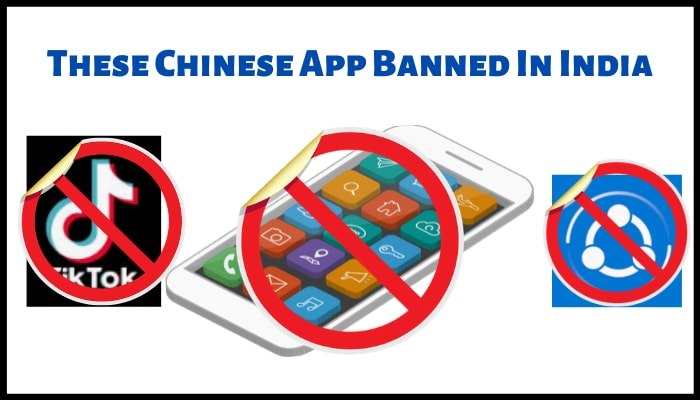These Chinese App Banned In India