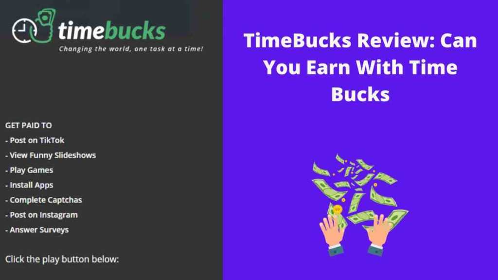 TimeBucks Review Can You Earn With Time Bucks