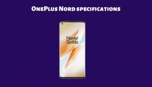 OnePlus Nord specifications and features leaked